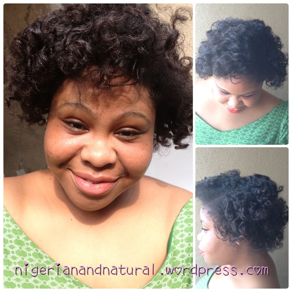 Bantu Knot Out On Short Natural Hair Vs On Relaxed Transitioning Hair Jennifer Abah