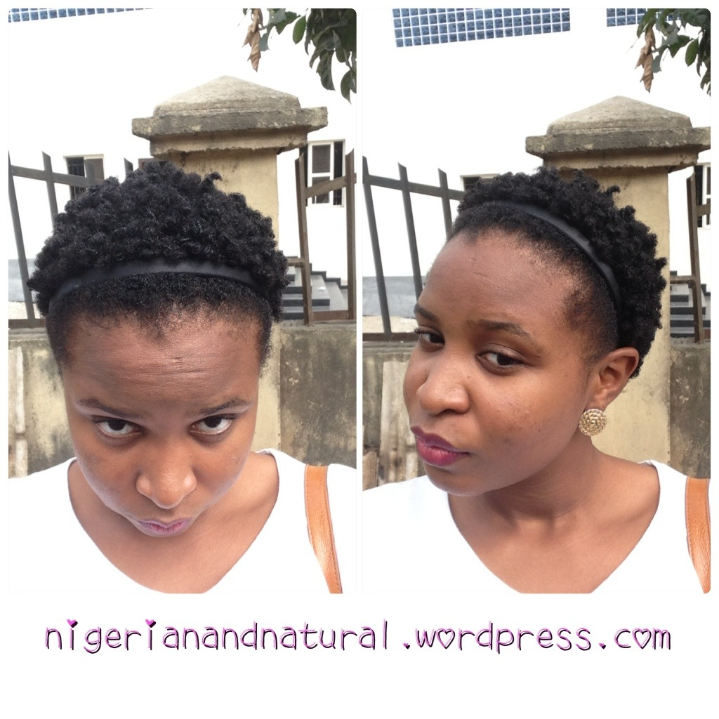 Bantu Knot Out On Short Natural Hair Vs On Relaxed Transitioning