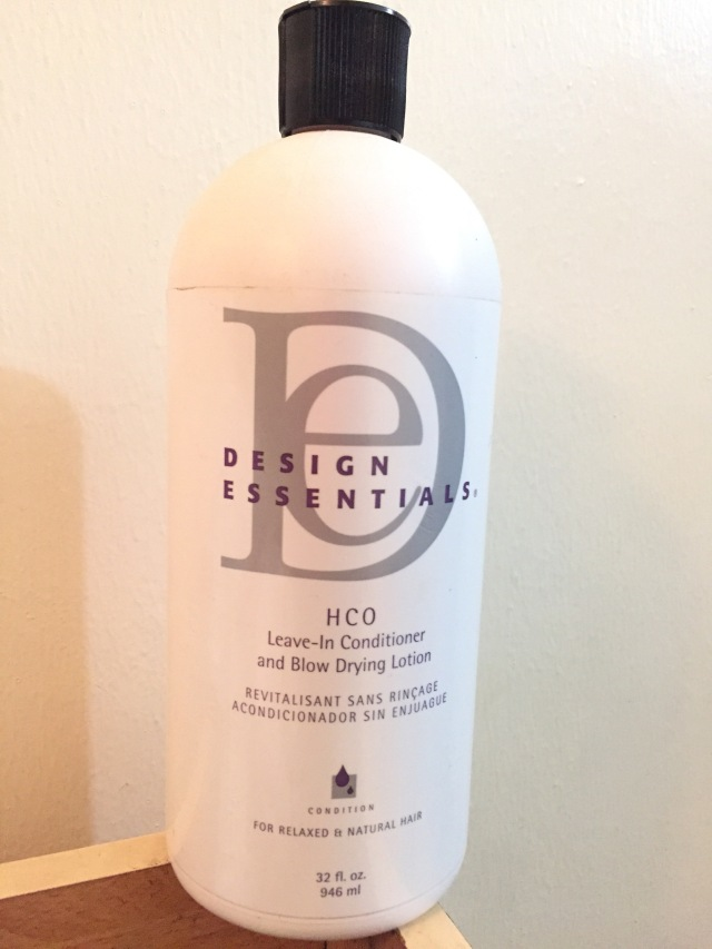 Design Essentials Hco Leave In Conditioner And Blow Drying Lotion