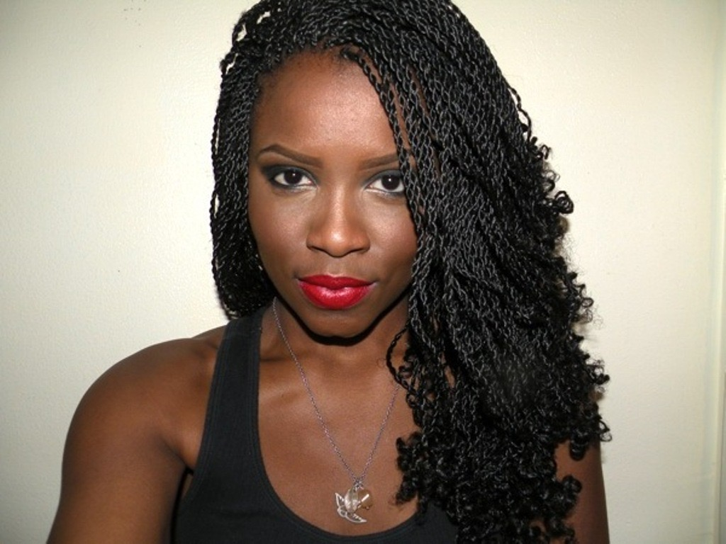 Twist Braids Hair Style by wearticles.com